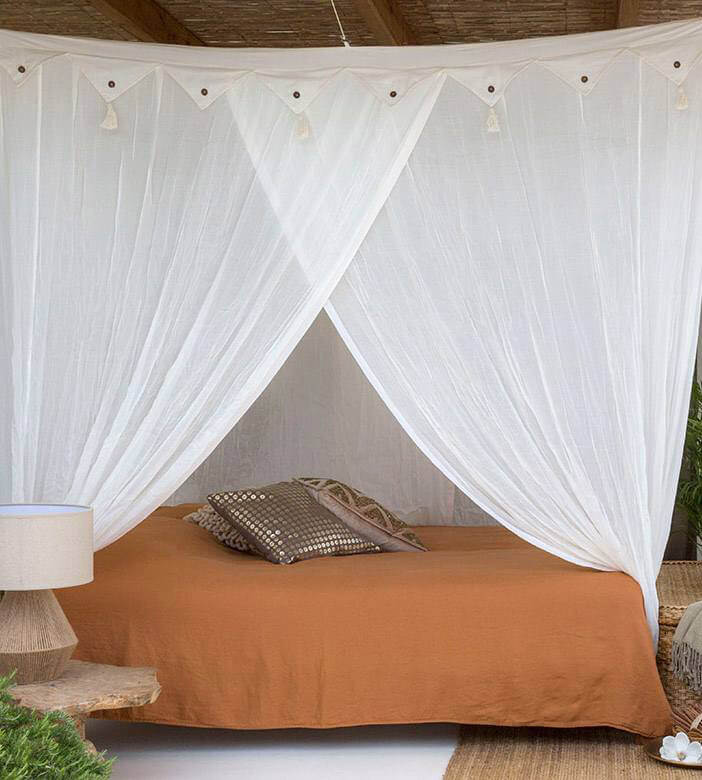 moskitonetz baumwolle